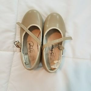 Girls tap shoes size 12.5